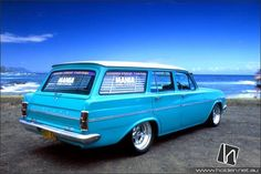 Aquamania 1964 Holden EH Special Wagon Built by Steve Maurencig Australian Muscle Cars, Aussie Muscle Cars, Holden Wagon, Holden Australia, Car Facts, Automobile, Abandoned Cars, Hot Rides, Vintage Bicycles