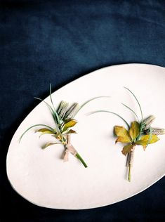 Simple, unique boutonnières