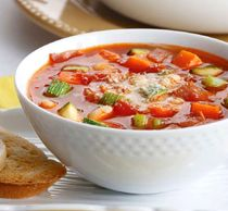 Experience this classic, hearty Minestrone, rich in lycopene!