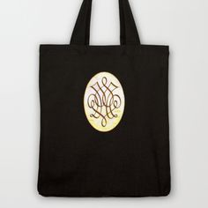 Dale (#TheAccessoriesSeries)  by Wayne Edson Bryan    TOTE BAG / BLACK CANVAS TOTE  $22.00