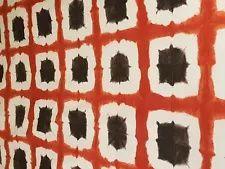 Scion Shoji Terracotta/Chocolate Curtain Craft Cotton Fabric 2.5 Metre Scion Fabric, Fabric Samples, Terracotta, Fabric Design, Cotton Fabric, Chocolate, Crafts, Handmade, Fabric Swatches