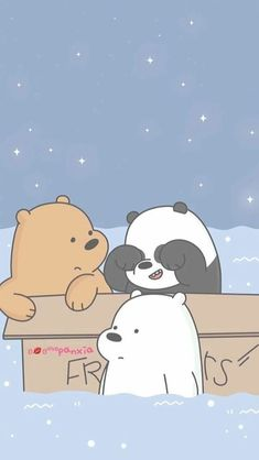 We Bear Ice Bear We Bare Bears Cute Wallpapers We We throughout We Bare Bears Wallpaper Hd Iphone - All Cartoon Wallpapers