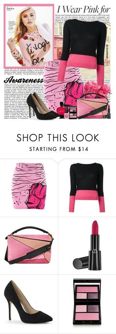 """""""Awareness"""" by polybaby ❤ liked on Polyvore featuring Iron Fist, Guild Prime, Loewe, Giorgio Armani, Paco Rabanne, Surratt, OPI and IWearPinkFor"""