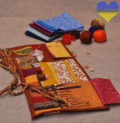 Knitting Organizer Waldorf Knit Crochet Roll Embroidery