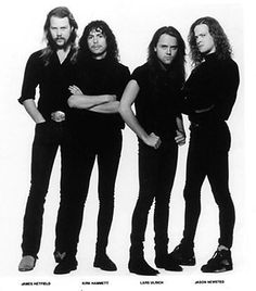 "Metallica is an American heavy metal band from Los Angeles, California. The band's fast tempos, instrumentals, and aggressive musicianship placed them as one of the founding ""big four"" of thrash metal alongside Slayer, Megadeth, and Anthrax. Metallica was formed in 1981 when James Hetfield responded to an advertisement that drummer Lars Ulrich had posted in a local newspaper."