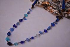 Collar de vidrios, $110 en http://ofeliafeliz.com.ar