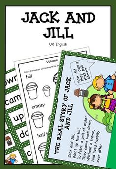 65161525835204601 on Jack And Jill Sequencing Activity Cards
