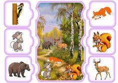 Tarjetas descargables. Aprendemos a hablar con esta tarea. ¿Dónde vive la vaca? -En la granja. ¿Dónde vive el oso? – En el bosque. ¿Dónde está el cocodrilo? -En el zoo. Mírame y aprenderás en… Autism Activities, Activities For Kids, Toddler Crafts, Kids Crafts, Projects For Kids, Diy For Kids, Baby Sensory Play, Elementary Spanish, Autumn Forest