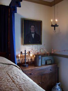 Fall 2014 Guest Bedroom ...LB theprimitivestitcher www.picturetrail.com/theprimitivestitcher