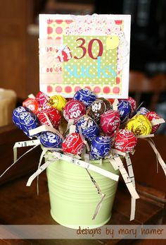 30 sucks birthday gift idea by Mary Hamer