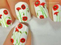 Flower Nail Art-15