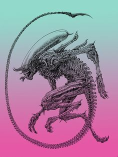 misguided ramblings and rants Saga Alien, Alien Film, Alien Art, Predator Movie, Alien Vs Predator, Xenomorph, Giger Alien, Hr Giger, Aliens Movie