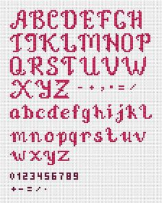 Just married – Wedding Cross Stitch Pattern PDF by AnnaXStitch – Personalized anniversary gift – DIY – Digital File - Kreuzstich Cross Stitch Letter Patterns, Wedding Cross Stitch Patterns, Cross Stitch Letters, Cross Stitch Designs, Cross Stitch Font, Cross Stitch Numbers, Cross Stitching, Cross Stitch Embroidery, Embroidery Alphabet