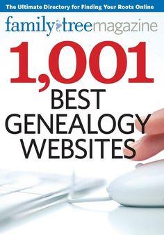1,001 Best Genealogy Websites CD | ShopFamilyTree