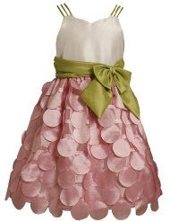 Bonnie Jean TWEEN GIRLS 7-16 PINK IVORY GREEN TRIPLE STRAP FLUTTER DIE CUT DOT Special Occasion Wedding Flower Girl Easter Party Dress  Clothing - Up to 40 Off Dresses - End Promotion Mar 21, 2012 http://www.amazon.com/l/4642811011/?_encoding=UTF8&tag=toy.model.collection.hobby-20&linkCode=ur2&camp=1789&creative=9325 $56.00