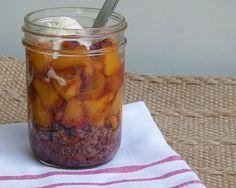 Recipe: Peach Pie Pots
