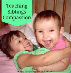 Siblings fighting? Teach Compassion.  These siblings learn compassion – the hard way!