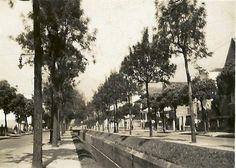 Avenida Paulo de Frontin, Rio Comprido, na década de 1930. Época em que o bairro era nobre.  Retirado do Grupo Rio Antigo.