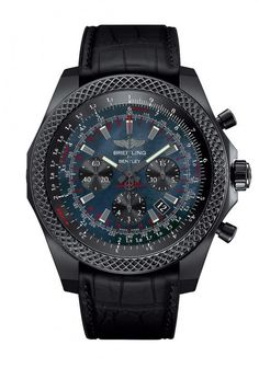 Breitling for Bentley B06 Midnight Carbon - front