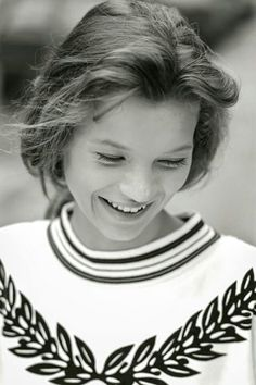 Kate Moss's first photo shoot