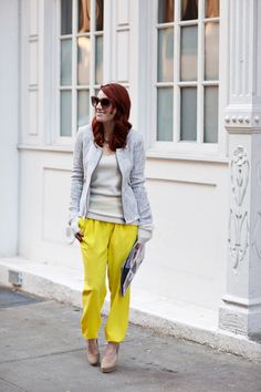 Y is for Yellow- Cheetah is the New Black #sstrendguide