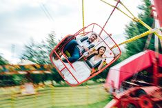 Vintage Fun Fair at Marleybrook House Kent wedding venue