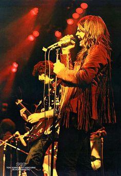 "rockandrollpicsandthings: ""Black Sabbath, page from swiss magazine POP 1973 "" Black Sabbath Live, Black Sabbath Concert, Classic Rock And Roll, Rock N Roll, Hard Rock, Heavy Metal, Ozzy Osbourne Black Sabbath, Rock And Roll Fantasy, James Dio"