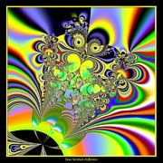 Rose Santuci-Sofranko - Rainbow Butterfly Bouquet Fractal 56