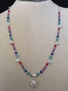 Pearls & Jam Necklace by ScarletMareStudio on Etsy, $57.00