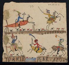 Les dessins des enfants de Darwin sur le manuscrit de l'origine des espèces :)))