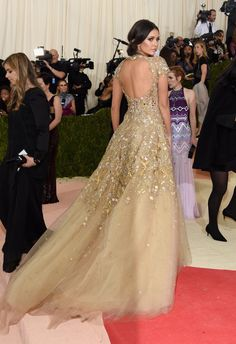 Pin for Later: Nina Dobrev's Met Gala Gown Looks Like Something Straight Out of The Vampire Diaries