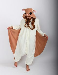 Women and Men Pyjamas Flying Squirrel Onesies Pajamas Unisex Adult Pajamas Cosplay Costume Animal Onesie Sleepwear Jumpsuit Adult Pajamas, Onesie Pajamas, Cute Pajamas, Pajamas Women, Pijamas Onesie, Onesie Costumes, Cosplay Costumes, Pilou Pilou, Squirrel Costume