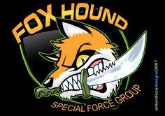 Foxhound Logo by TORA-KUN.deviantart.com on @deviantART