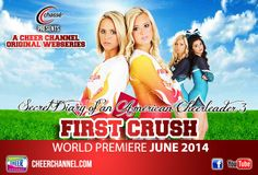Tune in to Season Three of Secret Diary of an American Cheerleader: First Crush at www.cheerchannel.com!