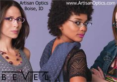 Head turning colors that will never turn on you.  Bevel Eyewear