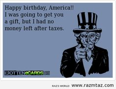 Image result for tax joke images for 4th of July