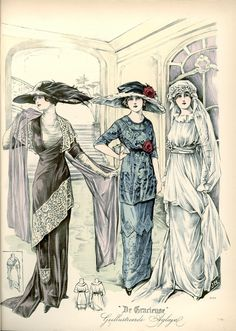 [De Gracieuse] Bruiloftstoiletten (October 1912)
