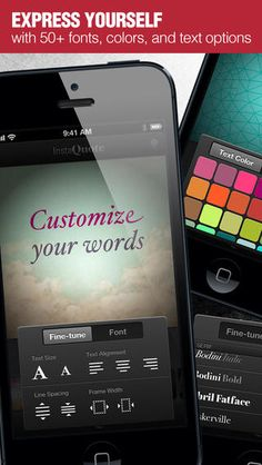 Instaquote Pro - Add text captions to photos and pictures for Instagram