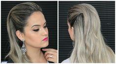 Penteado Fácil Moicano Feminino tutorial cabelo hair