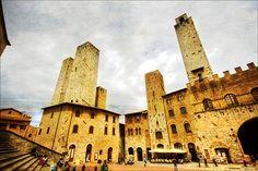 San Gimignano - UNESCO WHS  | by manlio_k | via italian-art