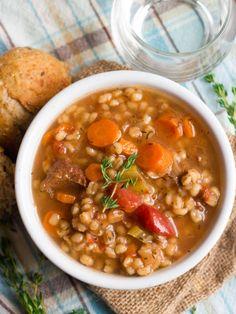 Veggies seitan chunks and barley are simmered up in herbed red  Mein Blog: Alles rund um Genuss & Geschmack  Kochen Backen Braten Vorspeisen Mains & Desserts!