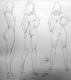 Pin by harry sánchez on dibujos in 2019 drawing female body, art sketches, Female Body Art, Drawing Female Body, Human Figure Drawing, Figure Sketching, Figure Drawing Reference, Anatomy Reference, Body Sketches, Drawing Sketches, Art Drawings