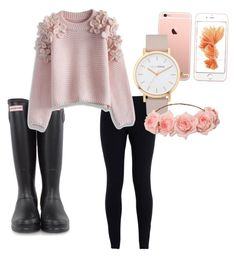 rose gold by molly-mare on Polyvore featuring polyvore, fashion, style, Chicwish, NIKE, Hunter, The Horse, women's clothing, women's fashion, women, female, woman, misses and juniors