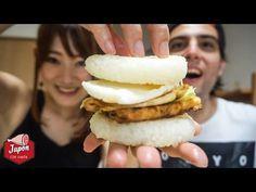 HACEMOS LA HAMBURGUESA JAPONESA ¡CON ARROZ! - YouTube
