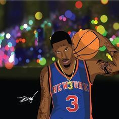 (via @illustrationsbyluongo) #BrandonJennings #knicks #knickstape #knicksnation #knicksfan #knicksallday #newyork #nyknicks #newyorkknicks #nyk