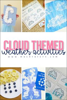 Cloud Themed Weather Activities for Kids