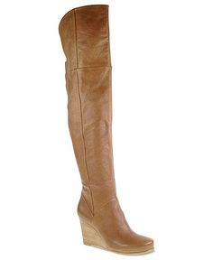 e6c39338085 Chinese Laundry Vera Cruz Over the Knee Wedge Boots   Reviews - Boots -  Shoes - Macy s