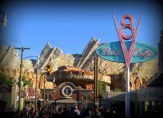 the new Cars Land at Disneyland