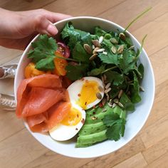 All hail the Breakfast Bowl! Recipe in our cookbook Good + Simple.