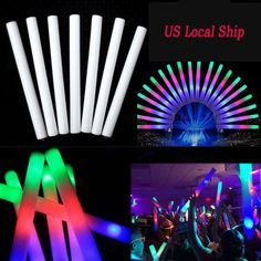 Cartoon Hats United 8pcs Party Light Sticks Cute Star Projector Party Wand Light Up Toy For Concert Kid's Party